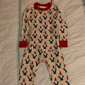 Hanna Andersson gnome print pajamas